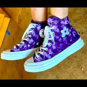 Converse Velvet Purple Golf Le Fleurs